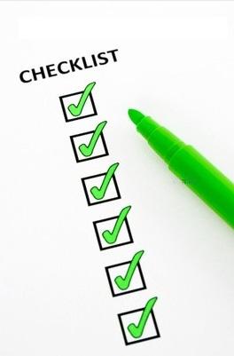 Checklist des questions que devrait se poser tout site internet